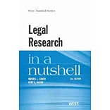 Legal Research in a Nutshell