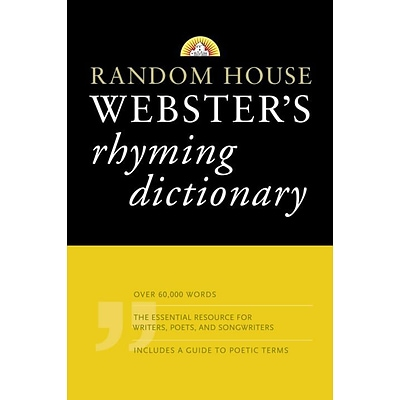 Random House Websters Rhyming Dictionary