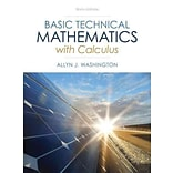 Basic Technical Mathematics With Calculus: 50th Anniversary Edition