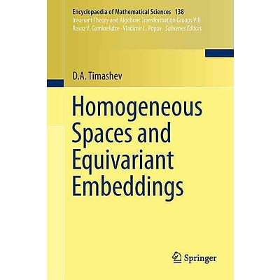 Homogeneous Spaces and Equivariant Embeddings