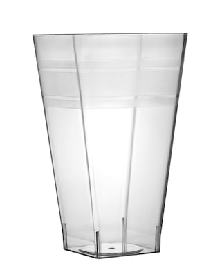 Fineline Settings Wavetrends 1116 Square Tumbler, Clear