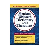 Merriam-Websters Dictionary & Thesaurus