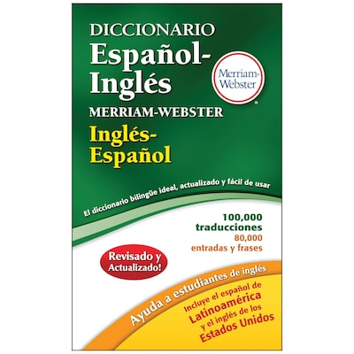 Merriam Webster's Espanol-Ingles Dictionary