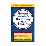 Merriam Websters Dictionary & Thesaurus