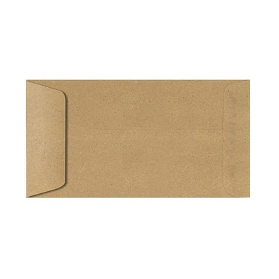LUX Open End Envelopes 6 x 11.5, Grocery, 250/Pack