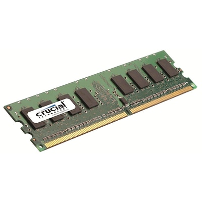 Crucial Technology CT25664AA667 DDR2 (240-Pin DIMM) Desktop Memory, 2GB