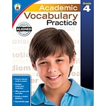 Academic Vocabulary Practice (Grade 4)