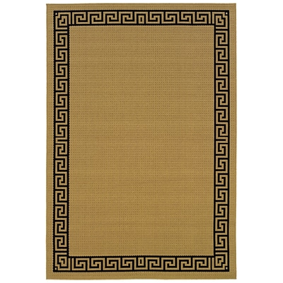 StyleHaven Traditional Polypropylene 4X 59 Red/Ivory Area Rug (WARI113R34X6L)