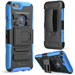 i-Blason Apple iPhone 6 and 6s 4.7 Case - Prime Series Dual Layer Holster Case - Blue