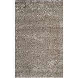 Safavieh Milan Shag Medium Rectangle Area Rug, 5 1 x 8, Gray