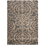 Safavieh Florida Holly Shag Large Rectangle Area Rug, 8 6 x 12, Gray/Beige