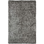 Safavieh New Orleans Shag Small Rectangle Area Rug, 3 x 5, Platinum/Ivory