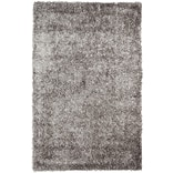 Safavieh New Orleans Shag Medium Rectangle Area Rug, 5 x 8, Gray
