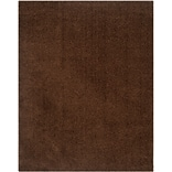 Safavieh Athens Shag Large Rectangle Area Rug, 8 x 10, Brown