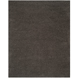 Safavieh Athens Shag Small Rectangle Area Rug, 4 x 6, Dark Gray