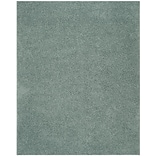 Safavieh Athens Shag Large Rectangle Area Rug, 8 x 10, Seafoam