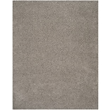 Safavieh Athens Shag Small Rectangle Area Rug, 4 x 6, Light Gray