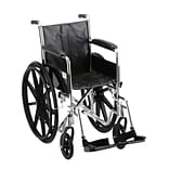 Nova Wheelchair Fixed Arms & Footrests 16