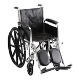 Nova Medical Products Steel Wheelchair 16