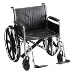 Nova Wheelchair Full Arms & Footrests 22