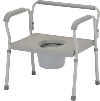 "Nova Steel Bariatric Commode 27.5""x26.5"""