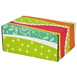 6.2X 3.7X9.5 GPP Gift Shipping Box, Classic Line, Funky Pattern, 24/Pack