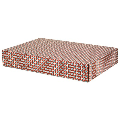 12.2(L)x 3(W)x17.8(H) GPP Gift Shipping Box, Classic Line, Tile Pattern, 48/Pack