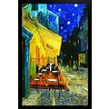 Diamond Decor Van Gogh Cafe at Night Framed Poster