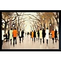 Diamond Decor Poets Walk Framed Art Print Poster