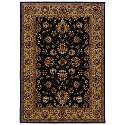 StyleHaven Floral Beige/ Red Indoor Machine-made Polypropylene Area Rug (5 X 76)