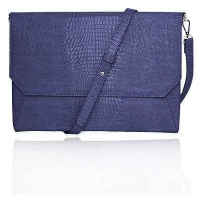 Fabrique FFS11BLLIZARDENVSS Lenox Sleeve With Shoulder Strap Sleeve For 11 Laptop; Blue
