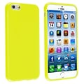 Yellow Jelly TPU Case For Apple iPhone 6