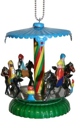 Alexander Taron Collectible Horse Carousel Tin Ornament