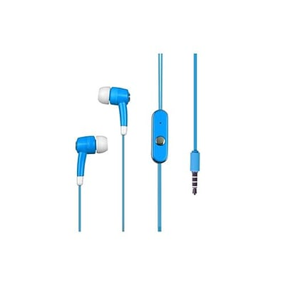 Insten® 10mW Stereo Headset For iPod touch/Nano; Sky Blue