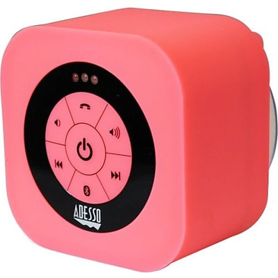 Adesso® Xtream S1 Bluetooth® 3.0 Waterproof Wireless Speaker; Pink