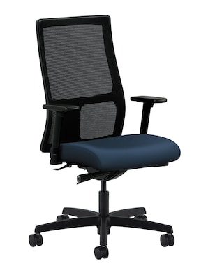 Hon Ignition Knit Mesh Mid Back Office Computer Chair Adjustable Arms Synchro Tilt Ocean Honiw103ur96