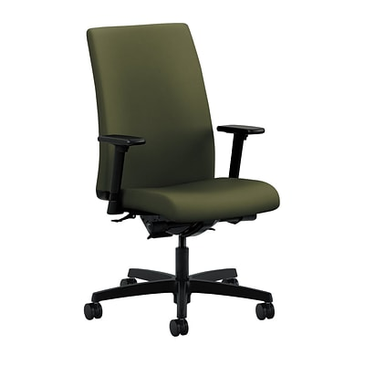 HON® Ignition® Mid-Back Office/Computer Chair, Arms, Olivine