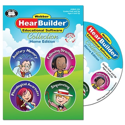 Super Duper Publications HBHC234 HearBuilder Collection Home Edition CD-ROM