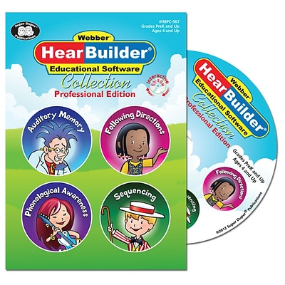 Super Duper Publications HBPC567 HearBuilder Collection Professional Edition CD-ROM