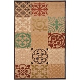 Surya Portera PRT1002-710108 Machine Made Rug, 710 x 108 Rectangle