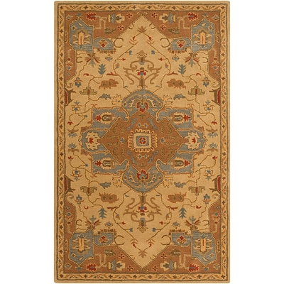 Surya Caesar CAE1146-46 Hand Tufted Rug, 4 x 6 Rectangle