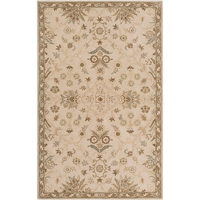 Surya Caesar CAE1152-8RD-RD Hand Tufted Rug, 8 Rectangle