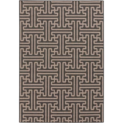 Surya Alfresco ALF9604-69 Machine Made Rug, 6 x 9 Rectangle
