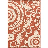 Surya Alfresco ALF9613-89129 Machine Made Rug, 89 x 129 Rectangle