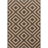 Surya Alfresco ALF9641-76109 Machine Made Rug, 76 x 109 Rectangle