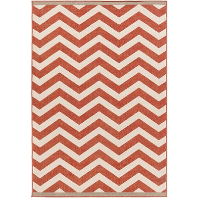Surya Alfresco ALF9647-69 Machine Made Rug, 6 x 9 Rectangle