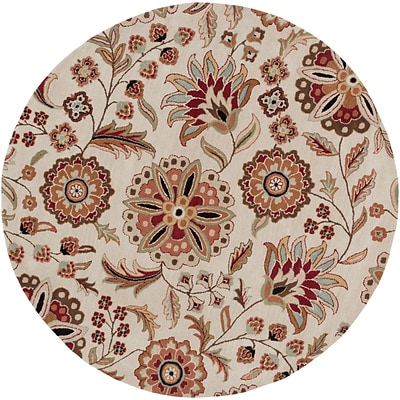 Surya Athena ATH5035-4RD Hand Tufted Rug, 4 Round