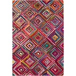 Surya Boho BOH2002-913 Hand Hooked Rug, 9 x 13 Rectangle