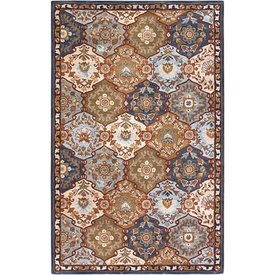 Surya Caesar CAE1032-58 Hand Tufted Rug, 5 x 8 Rectangle