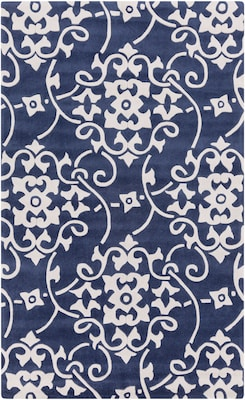 Surya Cosmopolitan COS9201-23 Hand Tufted Rug, 2' x 3' Rectangle